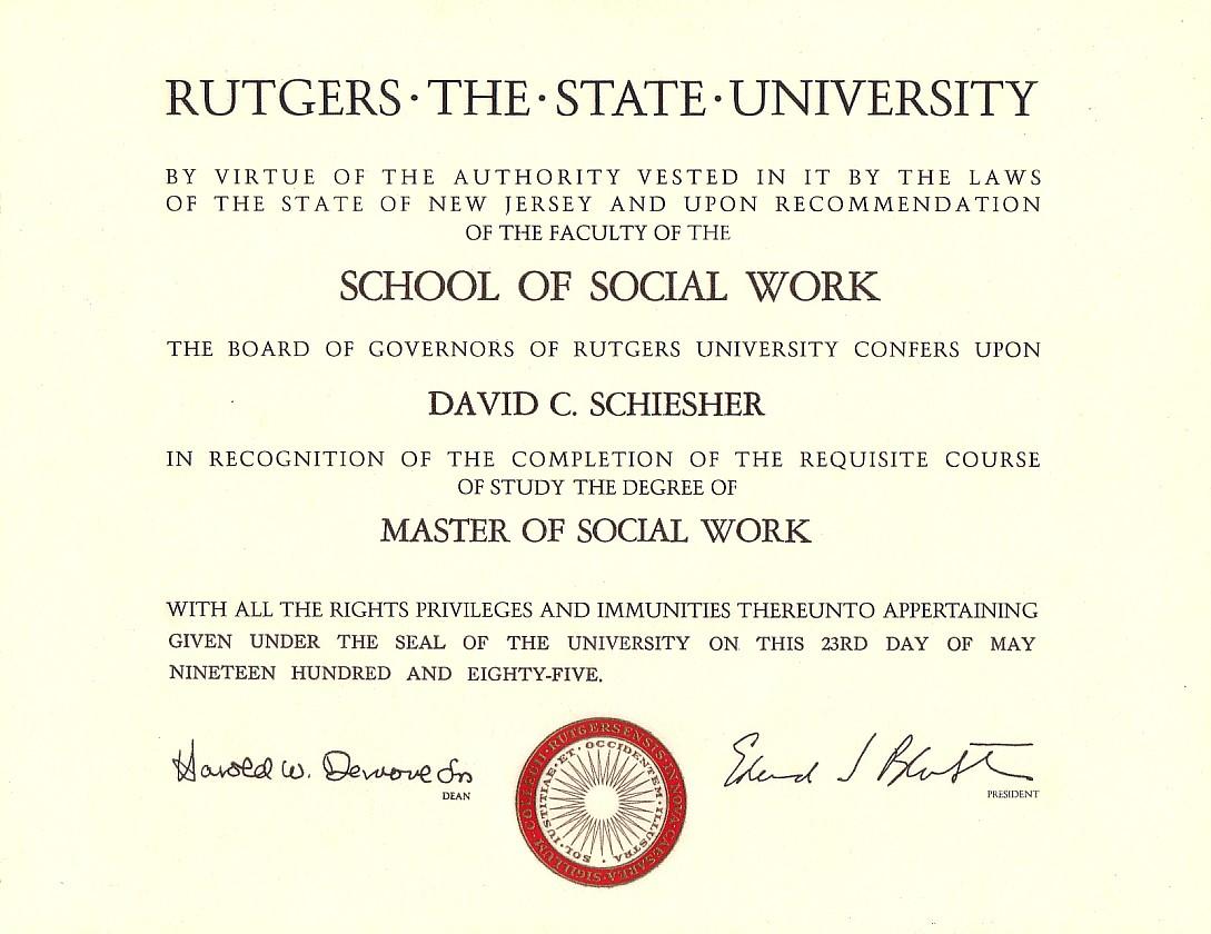Diploma information
