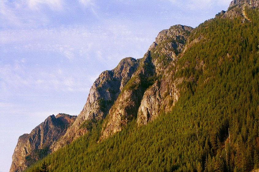 Big Si, a mountain in the Cascade range